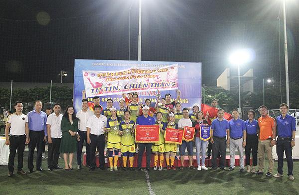 Wonder Fitness Center chúc mừng các đội chiến thắng tại Hội thao Đoàn khối các cơ quan thành phố Đà Nẵng