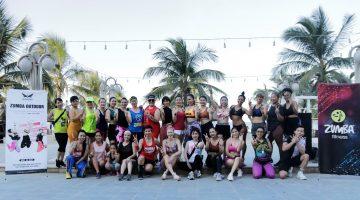 Bùng cháy vũ điệu ZumBa Outdoor sôi động cùng Wonder Fitness Center